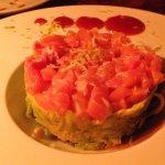 Salmon tartare starter