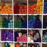 What a selection of yarn!