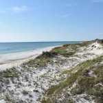 Powder white sand, beautiful water