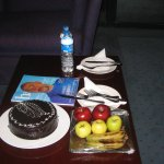 Wedding cake and anenities