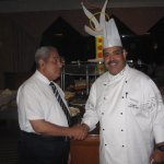 With shef Khaled