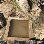 The Bath's - Tortola NASTY foot bath!