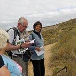 Sortie botanique avec Karine sur dune Donnant