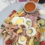 """Big"" Secret Garden Salad was huge. Again another menu item that you could share."