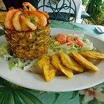 Coconut Shrimp and Plantains