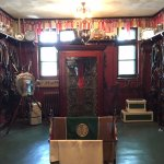 One of the tack rooms at the stable