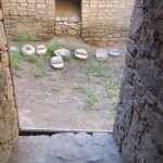 Stones used for grinding grain