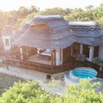 The 166sq meters of private Villa at Jamala Madikwe, with outdoor shower and private pools
