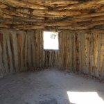 Navajo Hogan interior