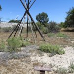 Ute dwelling (probably similar to the Tepee)