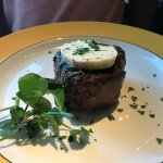 Filet with Blue Cheese butter