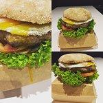 Eggy Gourmet Burger