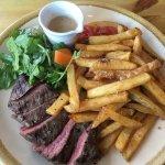 Steak frites. Yum!