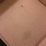 Stains and tear in chair