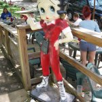 Betty Boop greets you