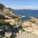Acadia National Park's Hulls Cove Visitors Center Foto