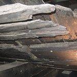 closeup of hull