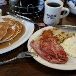 American Host Breakfast with Ham Steak