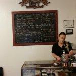 Hostess station & menu board