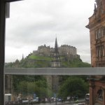 View from room Edinburgh Castle