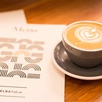 Perfect coffee at MELBA Vulcan Lane