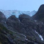 glacier at the end of the road.....20 min walk, 5 min drive