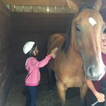 Sammie had the greatest time at Cooperstown Equestrian Park!  She got to do what she loves while