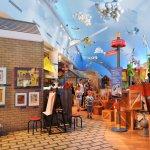 le coin des enfants a des dizaines de stations de jeux! un must!_musée canadien de l'histoire