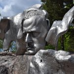Sibelius Monument in Helsinki, Finland.