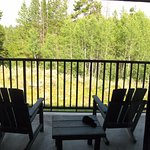 View from room 705 cottage patio king
