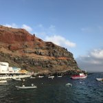 Oia at the port