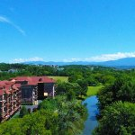 Incredible Mountain and River Views at the Appleview River Resort