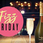 Every Friday until 10pm Ganvia Dry Prosecco £12 per bottle
