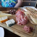 Meat and cheese plate!