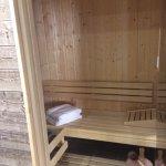 Sauna dans la suite
