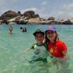 My kids enjoying the water!