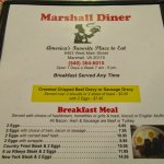 Bilde fra Marshall Diner