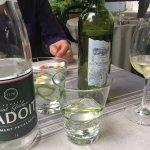 Notre vin et eau pétillante