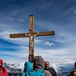 Cross at top of the mountain