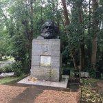 Karl Marx in east cemetery