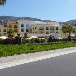 Hotel from the promenade