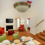 Pentouse Bi-Level Loft Suite - Lower Bedroom