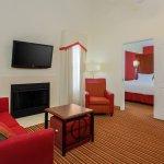 Two-Bedroom Bi-Level Suite - Living Area
