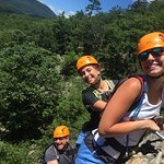 Some of our family on the Via Ferrata