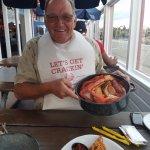 At Joe's Crab Shack - Crab Bucket