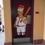 Example of a door at Isotopes Park