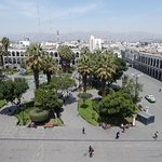Plaza View From Cathedral Roof.