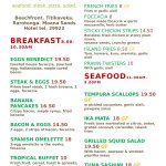 Check out our menu - page 1