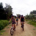 Cycle through villages