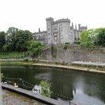 Kilkenny Castle dominates the views.